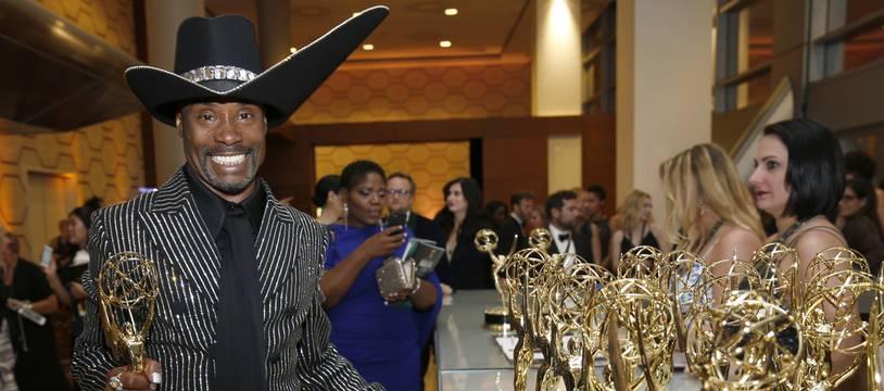 Billy Porter, récompensé lors des 71e Emmy Awards, le 22 semptembre 2019 à Los Angeles.