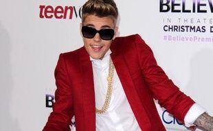 Justin Bieber le 19 décembre 2013.