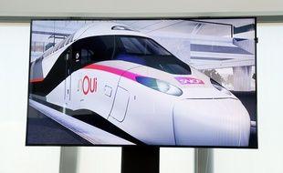 La SNCF a commandé 100 rames du «TGV du futur» à Alstom / AFP PHOTO / ERIC PIERMONT