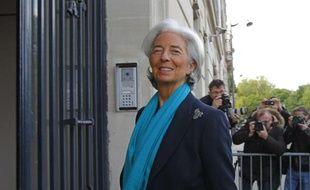 Christine Lagarde devant la Cour de Justice de la République à Paris le 23 mai 2013.
