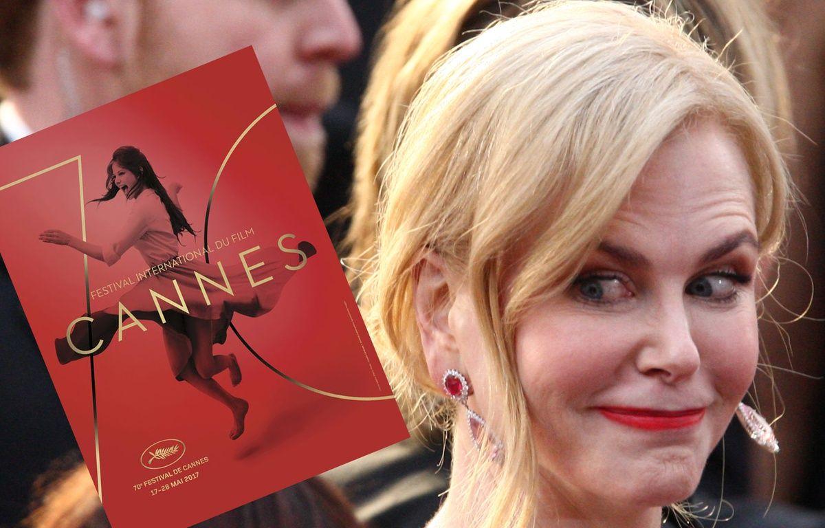 L'affiche du 70e festival de Cannes et Nicole Kidman. – Archivio Cameraphoto Epoche/Getty Images - Bronx // Tommaso BODDI / AFP