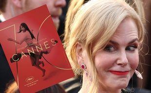 L'affiche du 70e festival de Cannes et Nicole Kidman.