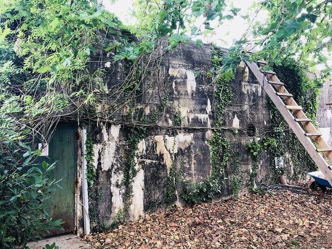 Le bunker allemand fait 200m²