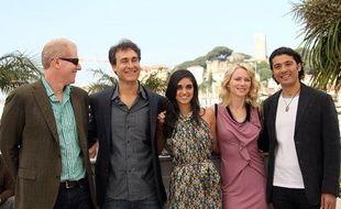 L'équipe de «Fair Game» lors de la présentation du film à Cannes, jeudi 20 mai 2010