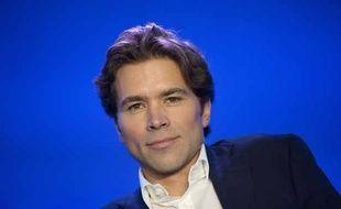 Didier Geoffroy, le cofondateur de la Droite forte, le 6 octobre 2012 à Paris.