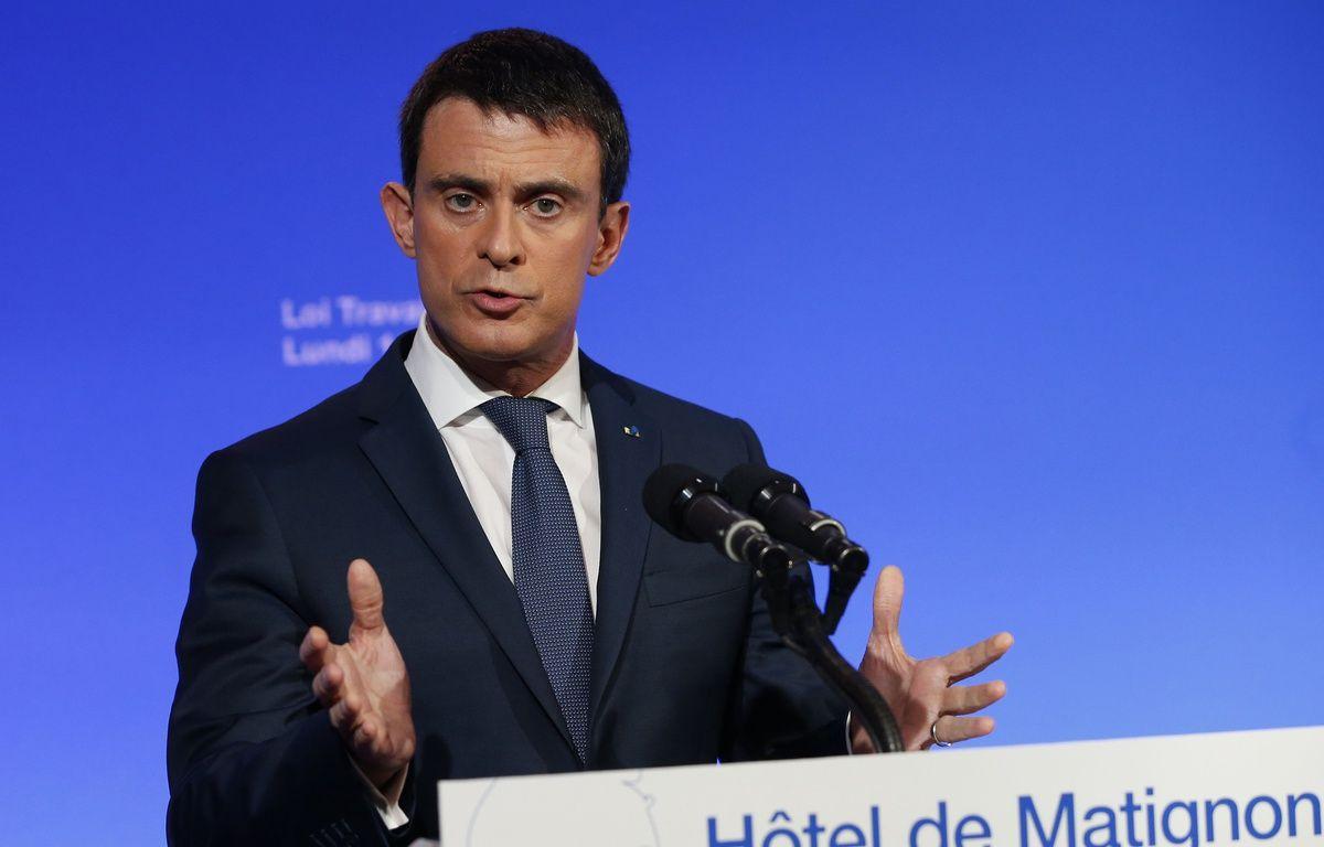 Le Premier ministre Manuel Valls.  AFP PHOTO / PATRICK KOVARIK – AFP