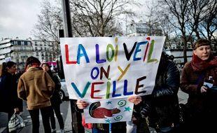 Paris: Manifestation pour le droit des femmes et l'IVG
