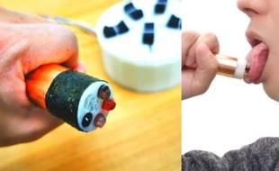 Une sucette électronique qui peut reproduire n'importe quel goût