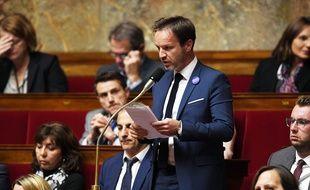 Le député Cédric Roussel, à l'Assemblée nationale en 2017
