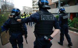 Manifestation de «gilets jaunes», le 9 février à Lyon.