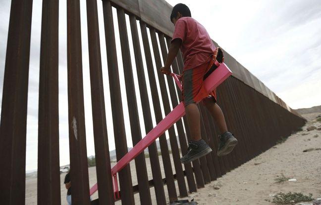 VIDEO. Des balançoires installées à la frontière entre le Mexique et les Etats-Unis