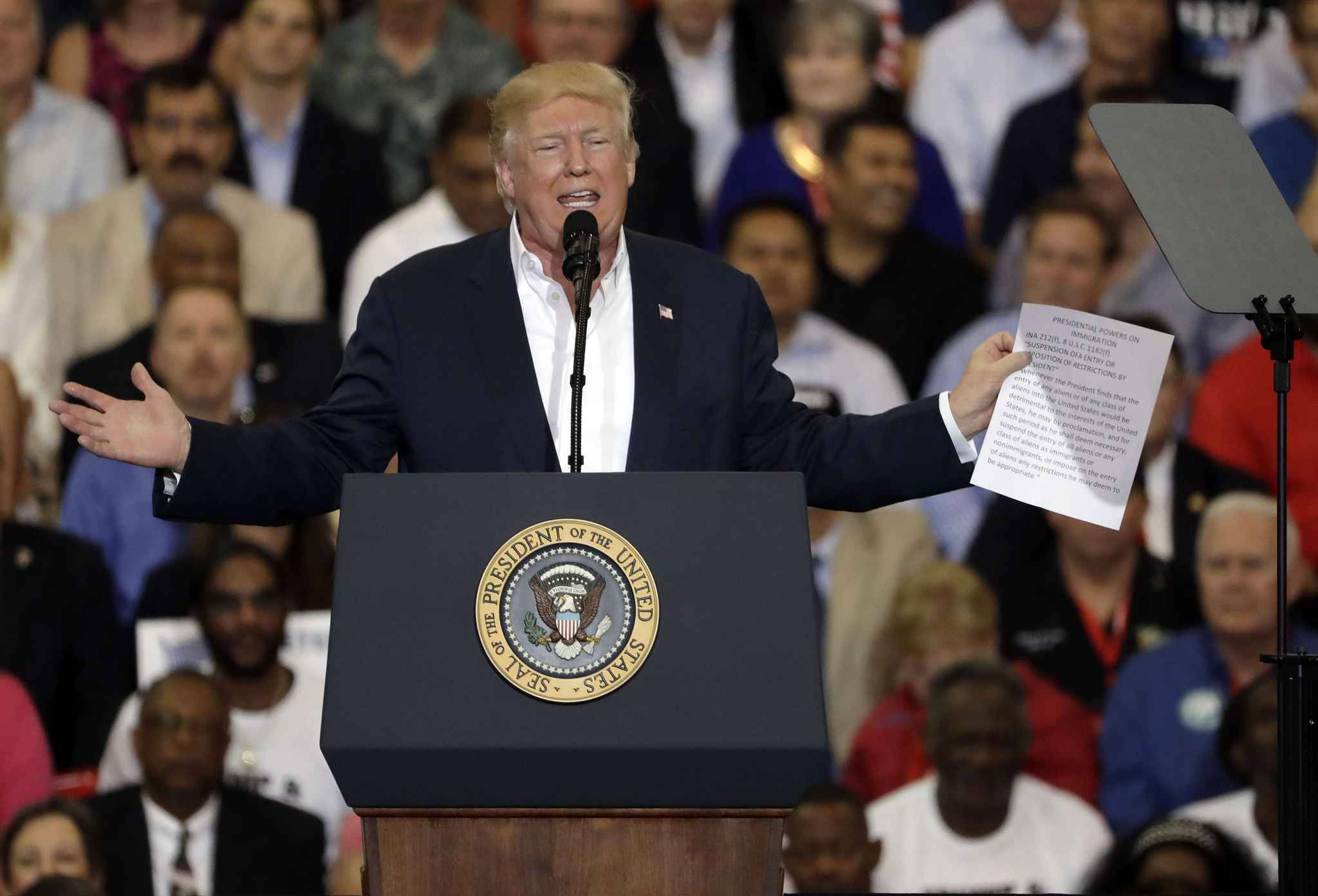 Donald Trump invente un attentat en Suède — Etats-Unis