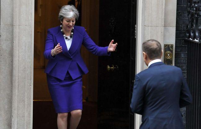 Brexit: Theresa May rencontre Donald Tusk à Londres avant un discours très attendu