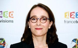 La présidente de France Télévisions Delphine Ernotte, le 29 juin 2016 à Paris