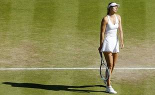Maria Sharapova à Wimbledon en 2015.