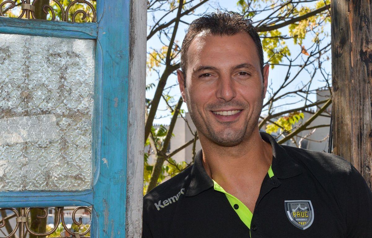Jérôme Fernandez, entraîneur-joueur d'Aix. – ISA HARSIN/SIPA