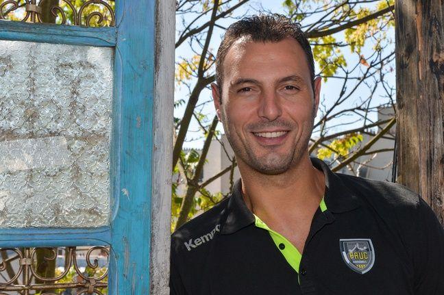 Jérôme Fernandez, entraîneur-joueur d'Aix.