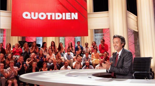Ce lundi à 19h10 sur TMC, Yann Barthès présente le tout premier numéro de sa nouvelle émission «Quotidien» – © CHRISTOPHE CHEVALIN / TF1