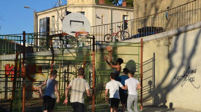 A Montpellier, les candidats mouillent le maillot pour le sport de quartier