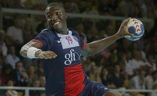 Le handballeur du PSG Luc Abalo, le 1er septembre 2013.