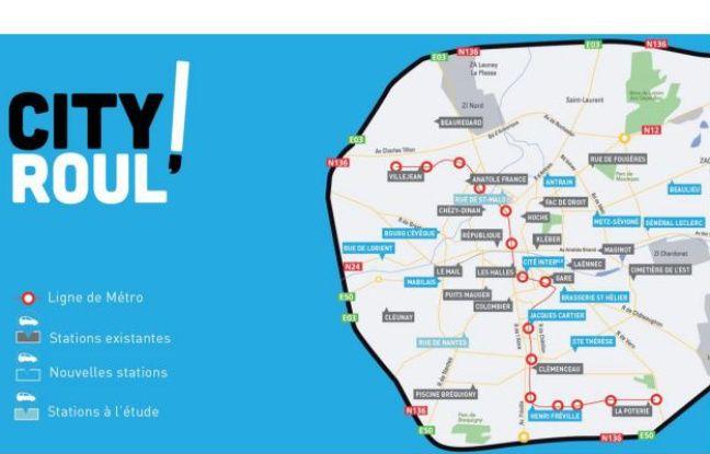 Le service City Roul' est désormais disponible dans 35 stations à Rennes.
