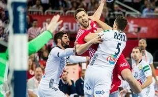 La France de Nikola Karabatic avait éliminé les Croates qui jouaient à domicile lors de l'Euro 2018 de handball.