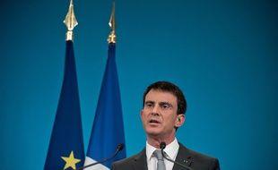 Manuel Valls à Paris le 6 mars 2015.