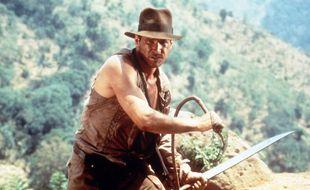 Harrison Ford dans « Indiana Jones et le Temple maudit »