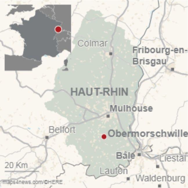 Obermorschwiller dans le Haut-Rhin.