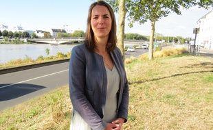 Julie Laernoes, candidate EELV à la mairie de Nantes.