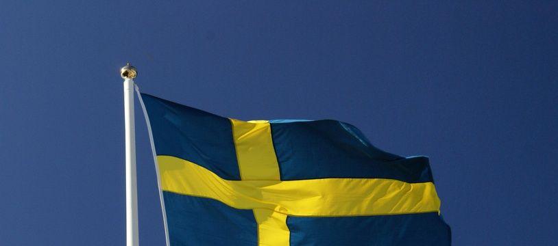 Un drapeau suédois.