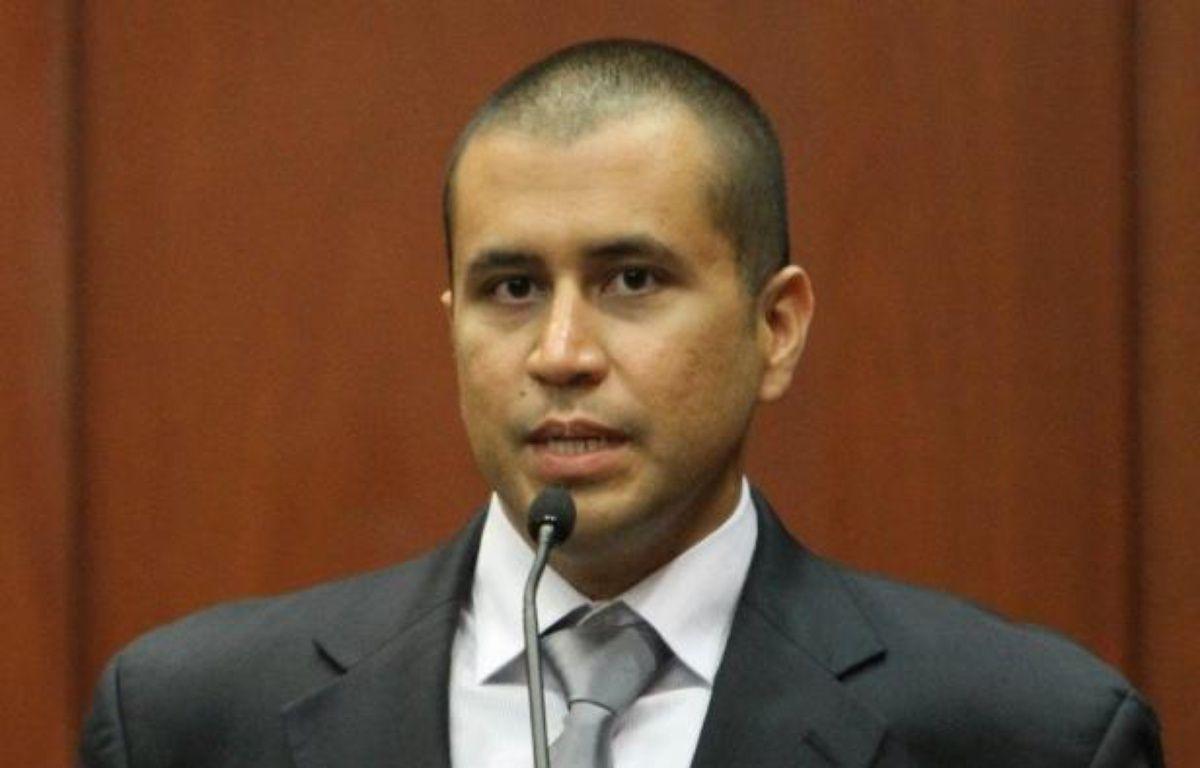 La liberté sous caution dont bénéficiait George Zimmerman, le tueur présumé de Trayvon Martin, un jeune Noir dont la mort a suscité un fort émoi aux Etats-Unis, a été révoquée vendredi par un juge de Floride, rapportaient les médias américains. – Gary W. Green afp.com