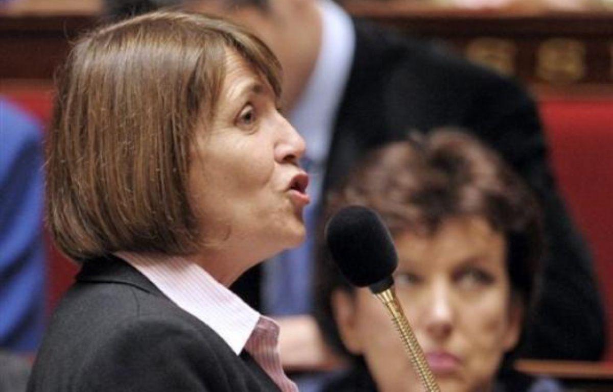 Pour déminer le terrain, Christine Albanel doit rencontrer les députés UMP mercredi en début d'après-midi. – Bertrand Guay AFP