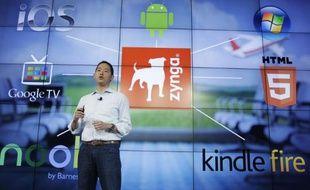 David Ko, directeur de la division mobile de Zynga, le 26 juin 2012.
