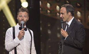 Extrait de l'émission «La chanson de l'année» présentée par Nikos Aliagas.
