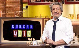 Alain Chabat de retour à la présentation de «Burger Quiz» pour 40 émissions sur TMC