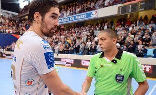 Nikola Karabatic après le match face au PSG handball, le 30 septembre 2012