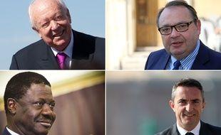 Les candidats à la mairie de Marseille en 2014.