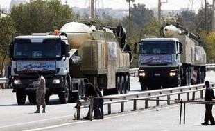 Khoramshahr, le nouveau super-missile de l'Iran, a été présenté le 22 septembre 2017 pendant le défilé militaire marquant le déclenchement de la guerre par l'Irak contre l'Iran en 1980.