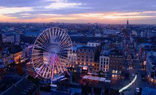 Capture d'écran de la vidéo des voeux de la mairie de Lille à ses habitants.