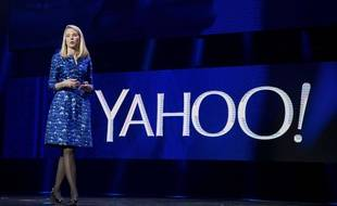 La PDG de Yahoo!, Marissa Mayer, le 7 janvier 2014 au CES de Las Vegas