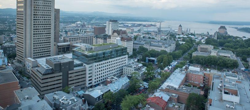 La ville de Québec.