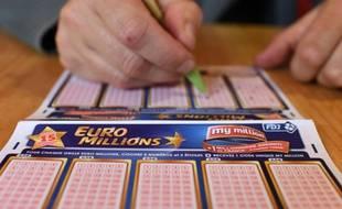 Le jeu EuroMillions (illustration).