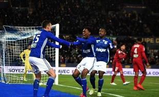 Strasbourg a renversé Bordeaux en seconde période en demi-finale de Coupe de la Ligue, le 30 janvier 2019.