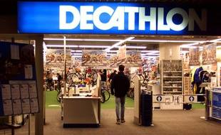 L'entrée d'un magasin Décathlon