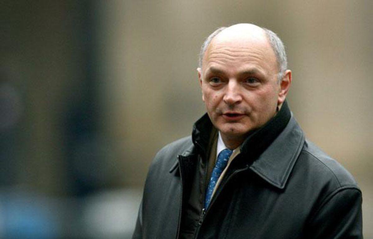Le socialiste Didier Migaud, le 11 janvier 2010 à Paris. – SIPA