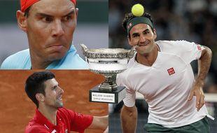 Qui de Nadal, Djokovic ou Federer gagnera le plus de titres du Grand Chelem ?