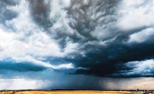 De violents orages se sont abattus mercredi sur plusieurs départements de Rhône-Alpes. Illustration.