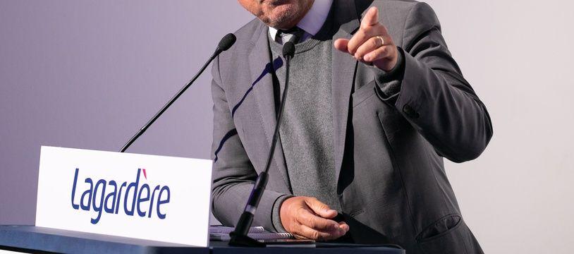 Arnaud Lagardère en mars 2019