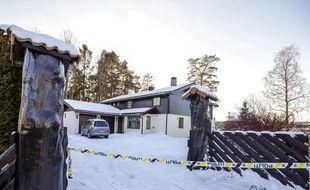 La maison du couple est bouclée par la police.